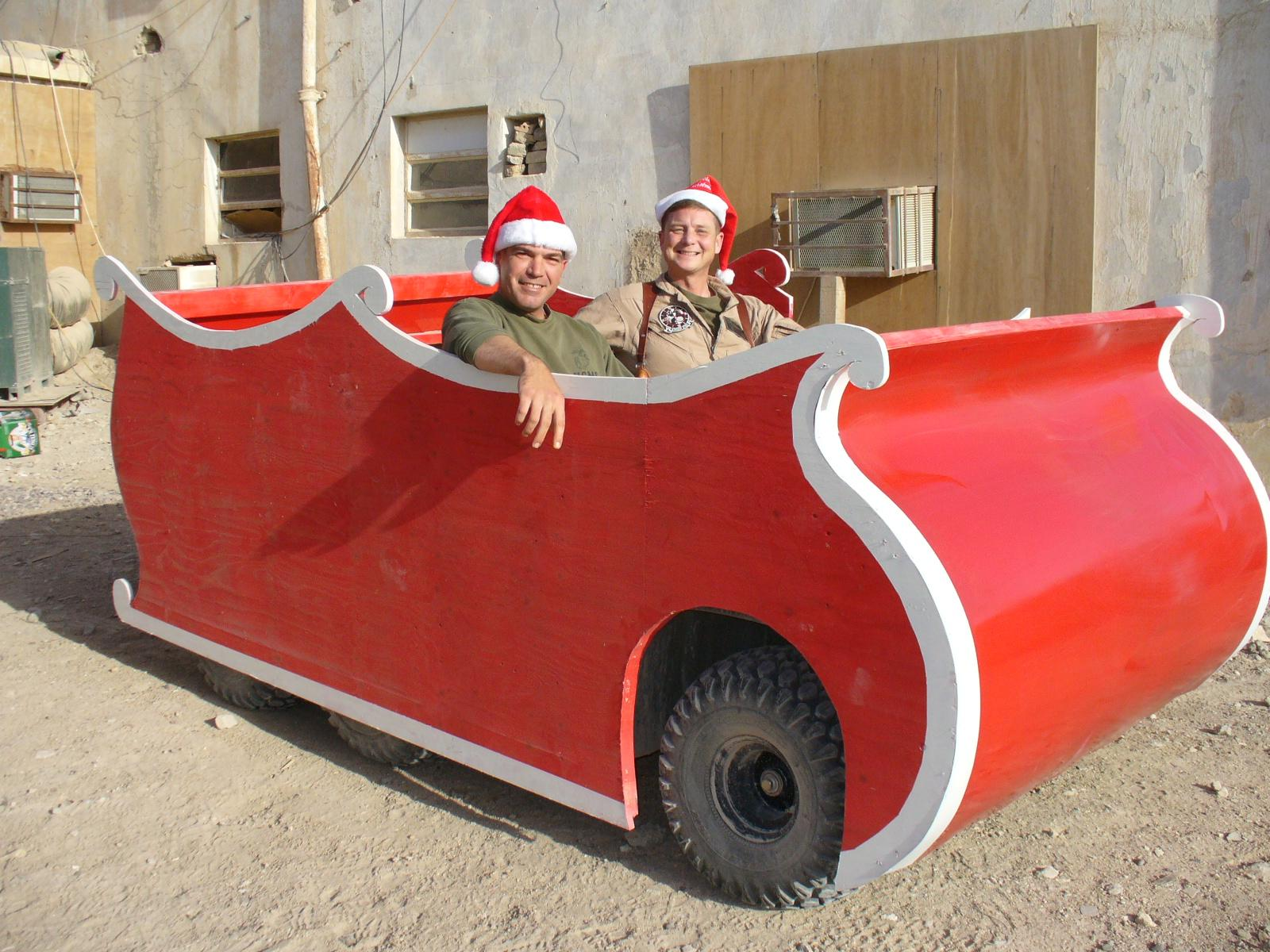our awesome 5K sled for Xmas in TQ