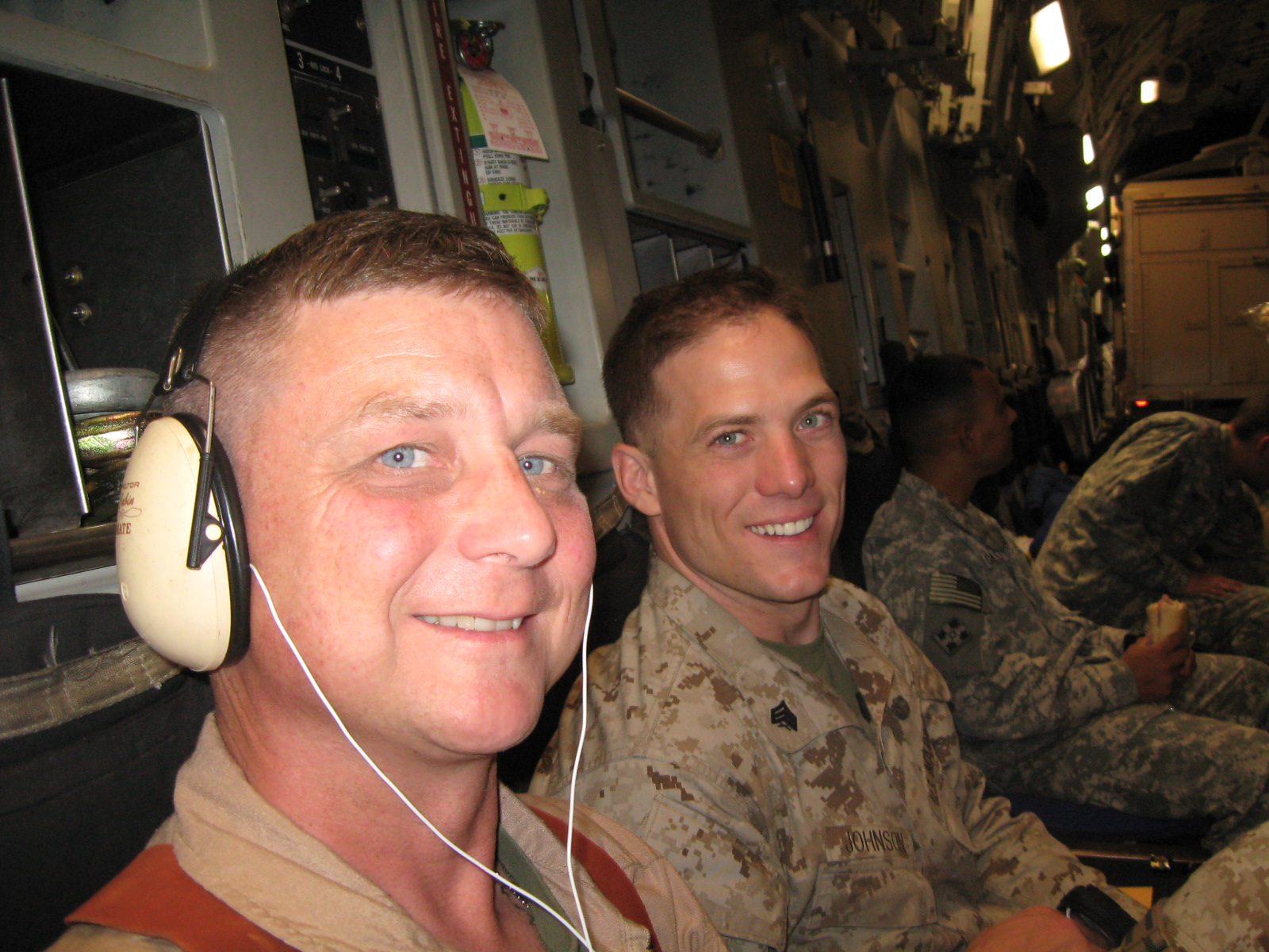 starting our trip over to Afghanistan