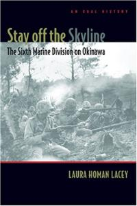 stay-off-skyline-sixth-marine-division-on-okinawa-laura-homan-lacey-paperback-cover-art